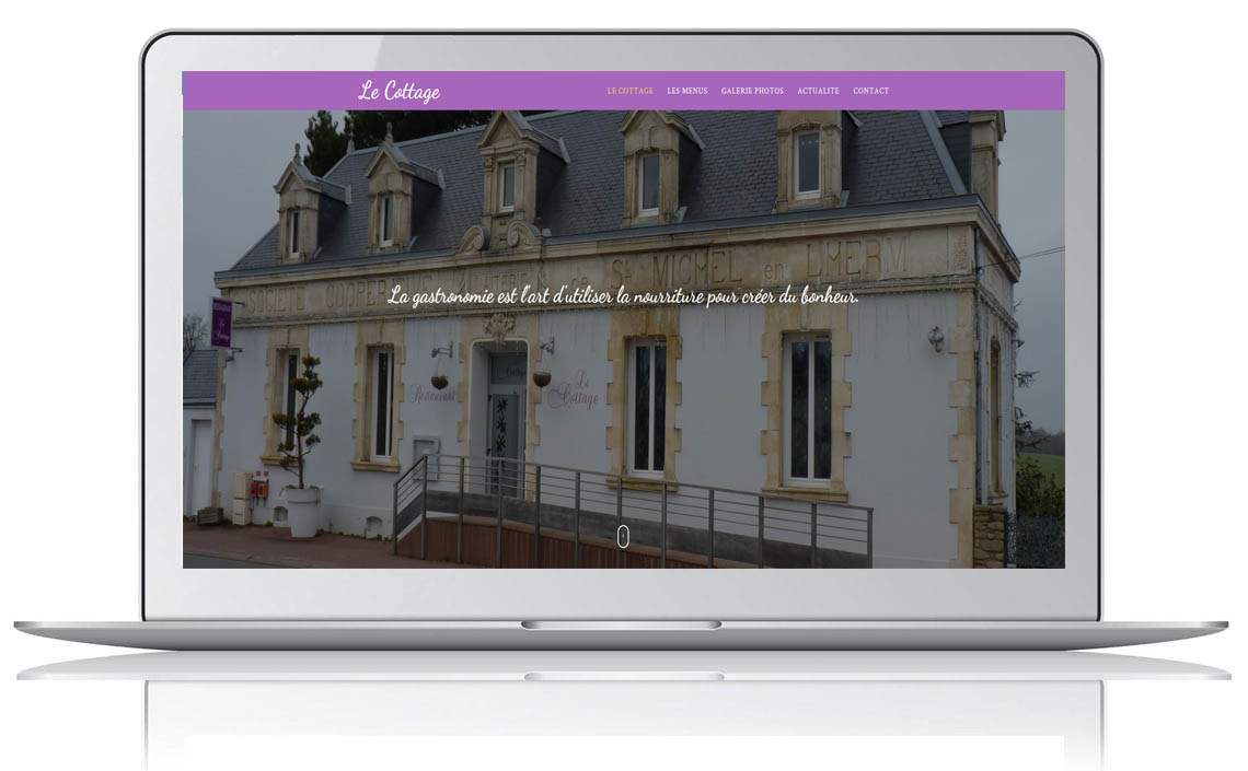 creation site internet restaurateur tamont saint hilaire